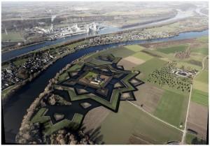 Het koninklijke fort Navagne